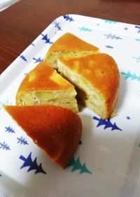 さつまいもとバナナの炊飯器ケーキ