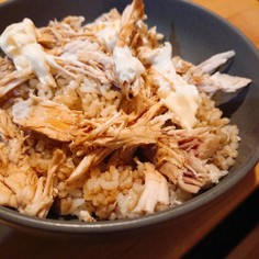 鶏肉の簡単シーチキン!簡単ごはん!