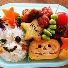 ハロウィーン☆お弁当の玉子焼き☆