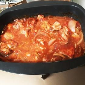 リンナイ デリシア 鶏肉のトマト煮込み