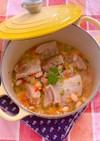 スーチカーと白インゲン豆の煮込み