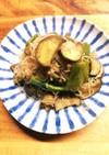 糸こんにゃくと野菜のポン酢炒め