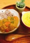 白桃風カレー