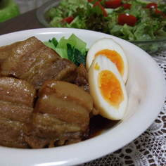 ぱんぽこ家の豚の角煮(濃いめ)