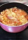 余り物の野菜であったかスープ