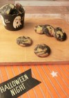 ココアとかぼちゃのマーブルマヨクッキー