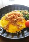 トロトロ卵☆鶏そぼろのオムライス