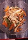 さつま揚げと野菜の炒めもの