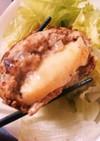 (男のレシピ)チーズイン!ハンバーグ
