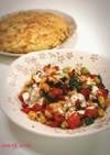 ズッキーニとパプリカの焼き野菜サラダ