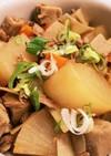 ツナの旨味!大根と高野豆腐の煮物*