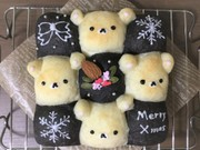 クリスマスちぎりパン★コリラックマの写真