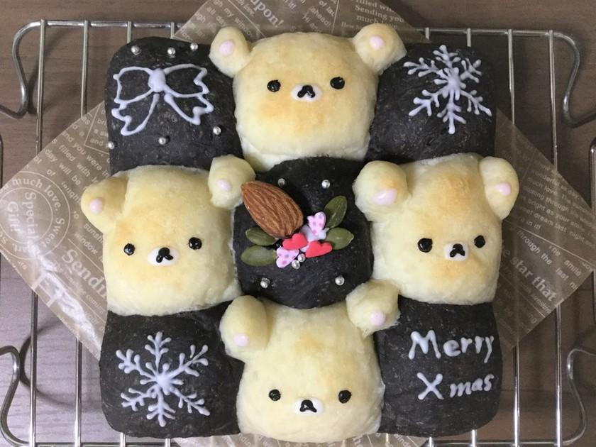 クリスマスちぎりパン★コリラックマ