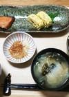 朝食♥️和食【鮭の南蛮漬け】