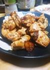 鶏胸肉のニンニクバター醤油炒め‼️