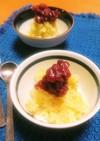 サツマイモ小豆