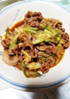 豚肩ロースとキャベツの中華風生姜焼き