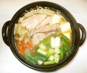 石狩鍋♪簡単鮭味噌鍋