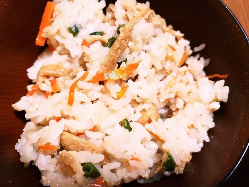 学校給食の『きつねご飯』