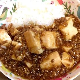 辛くない麻婆豆腐