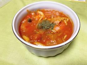 簡単!ヘルシーなトマトスープ