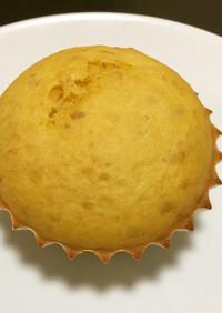 簡単ハロウィン★かぼちゃハトムギ蒸しパン