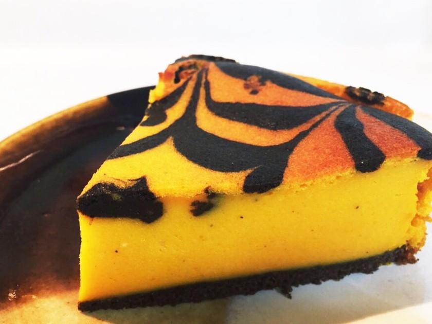かぼちゃのチーズケーキ(*´∇`*)
