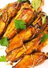 鶏スペアリブをバルサミコ酢でグリル