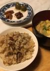 魔の土鍋炊きご飯☆里芋天かすご飯