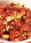 簡単!トマトのヘルシータレ。