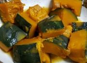 薄味、かぼちゃのほっこり煮物の写真