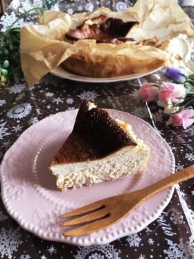 バスク風チーズケーキ♡紅茶バスチー