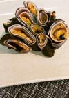 簡単おつまみハム海苔キムチのムンク巻き