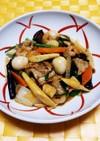 豚キムチ八宝菜