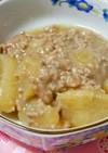 大根と挽き肉のあんかけ炒め