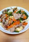 豚肉と野菜の味噌ダレ炒め