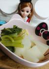リカちゃん♡蕪の煮物ꕤ油揚げで炊いたん