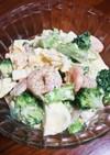 簡単デリ味☆えびとブロッコリーのサラダ