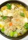 カレー鍋♪簡単カレー粉で風邪にも