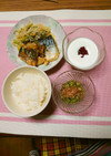 ヨウサマの減塩朝食(減量ver)⑱