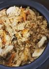 ツナとエリンギの炊き込みご飯