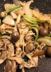 きのこと野菜のスパイス炒め