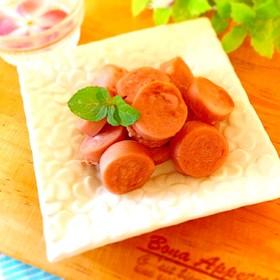 魚肉ソーセージのサラミ風♬