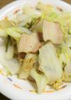 白菜とベーコンの10分蒸し焼