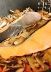 こなべっちde鮭の炊き込みご飯