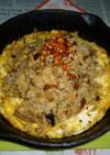 サーモンの焼き鮭の炊き込みご飯で炒飯を