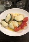 イタリアンカラーのモッツァレラのせチキン