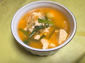 簡単!絶品!キムチスープ