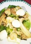 四角豆とキャベツのシャキシャキ八宝菜