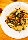 黄金比で作る!高野豆腐入りひじきの煮物